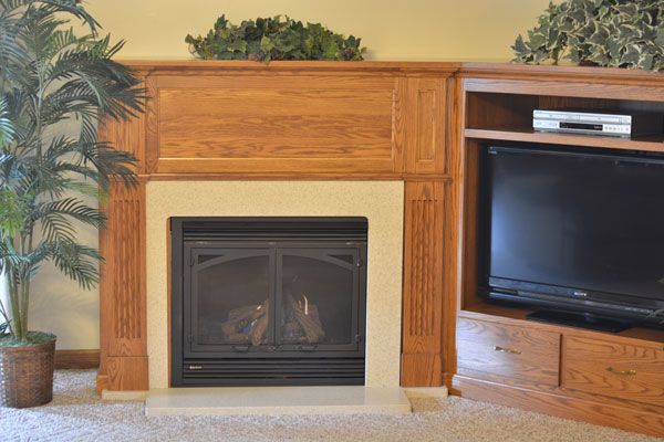 two-bedroom-suite-fireplace-and-entertainment-center